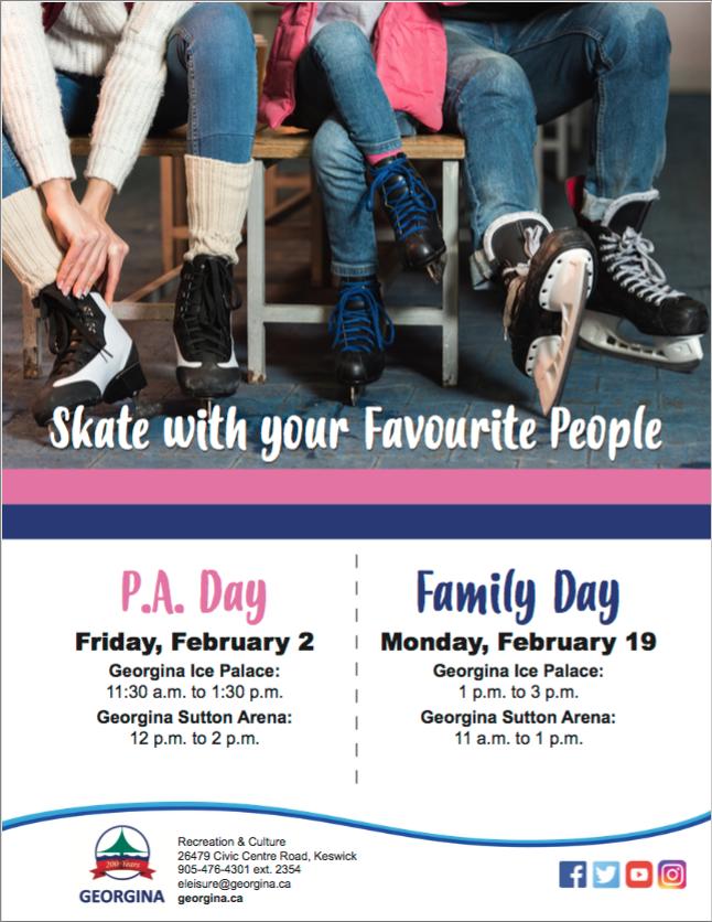 Free Family Day Skate