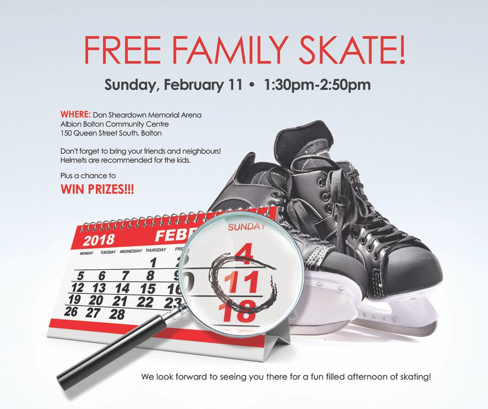 Free Skate Bolton