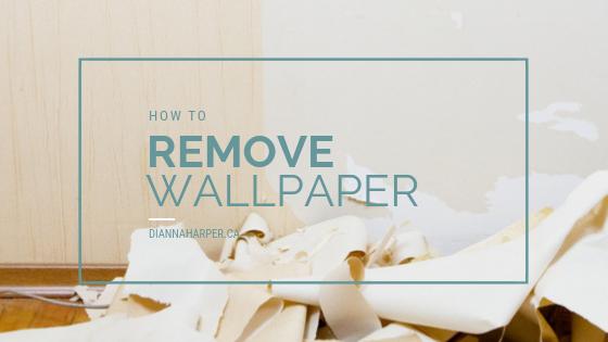 Wallpaper removing tips