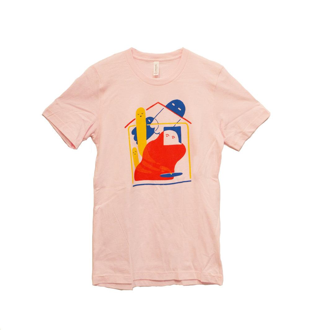 Hand-silkscreened Shirt