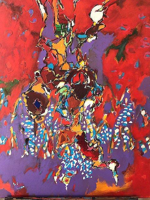 Viper II 24 x24 Acrylic