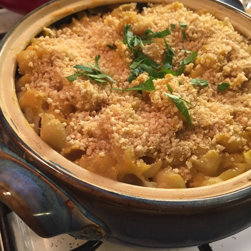 vegan glueten free mac and cheese