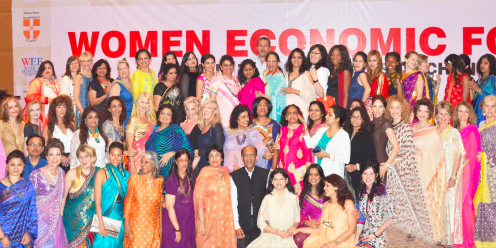 photo from the Women Economic Forum 2016 event brochure