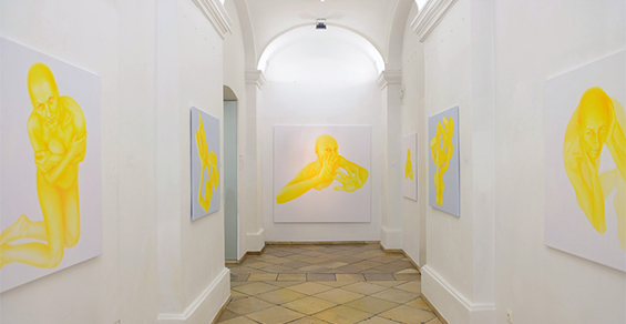 Yellow Heaven, 2015, Installation view, Vienna, Austria