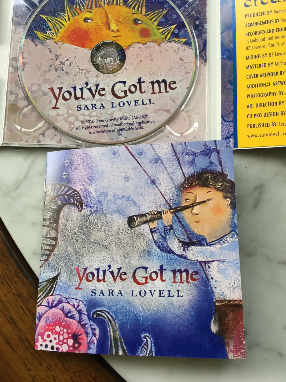 You've got me CD and lyrics cover.jpg