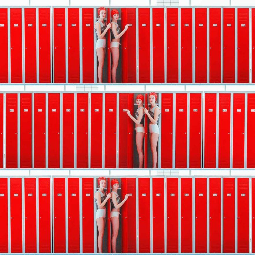 M Svarbova Tripple locker red.jpg