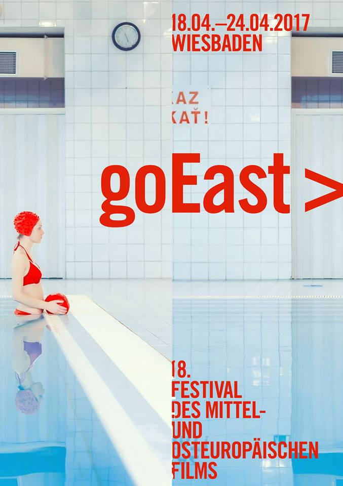 GoEast Film Festival poster featuring Maria Svarbova's photo