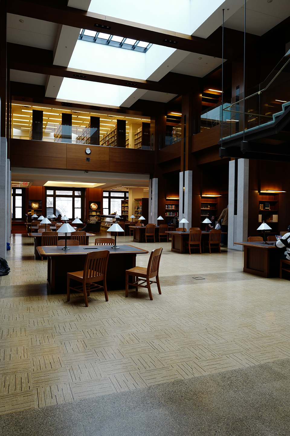 The interior of the Kansas City Public Library