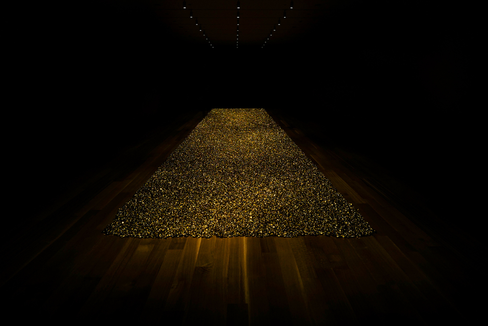 "Pulitzer Arts Foundation -  Felix Gonzalez-Torres -  ""Untitled"" (Placebo-Landscape-for Roni) , 1993"