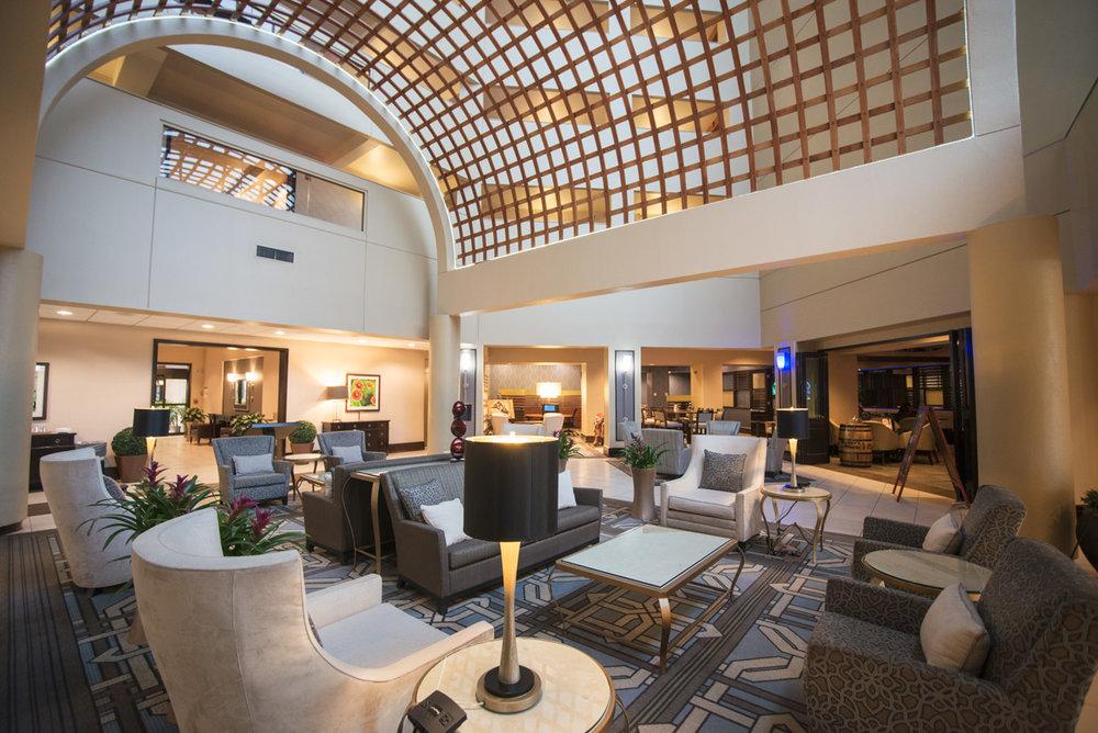 Houston Hotel Lobby