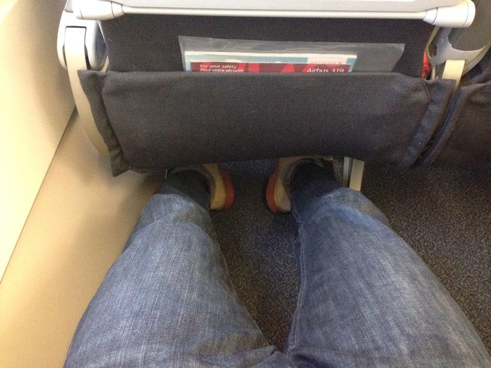 Air Canada Rouge Premium Leg Room