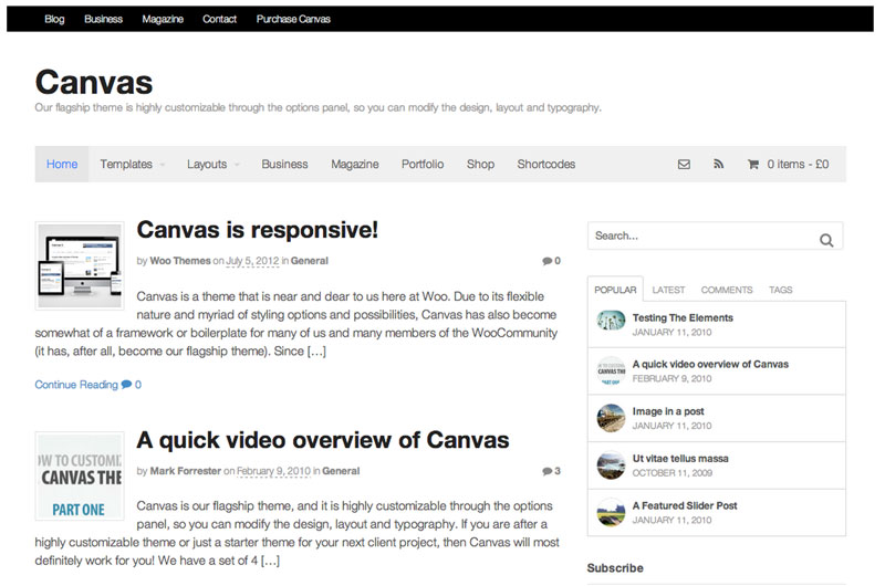 Woothemes-Canvas-Theme