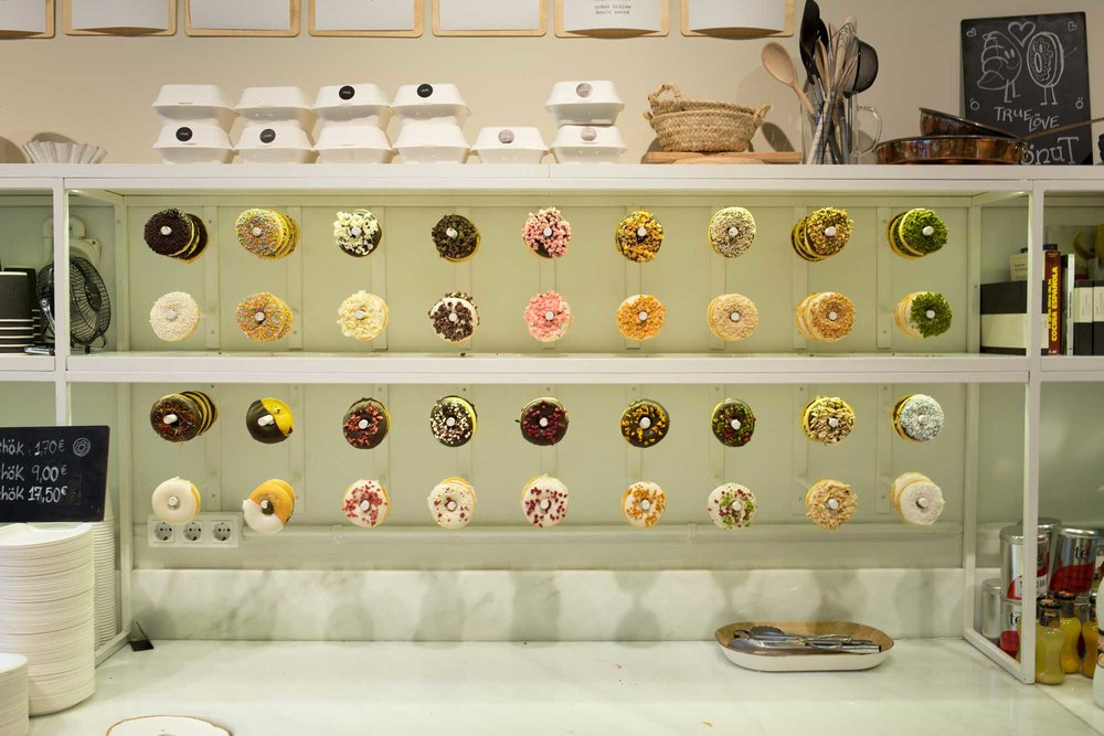 2014 — Donuts and Cronuts at Chök Barcelona