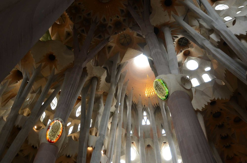 2012 — Inside the Sagrada Familia