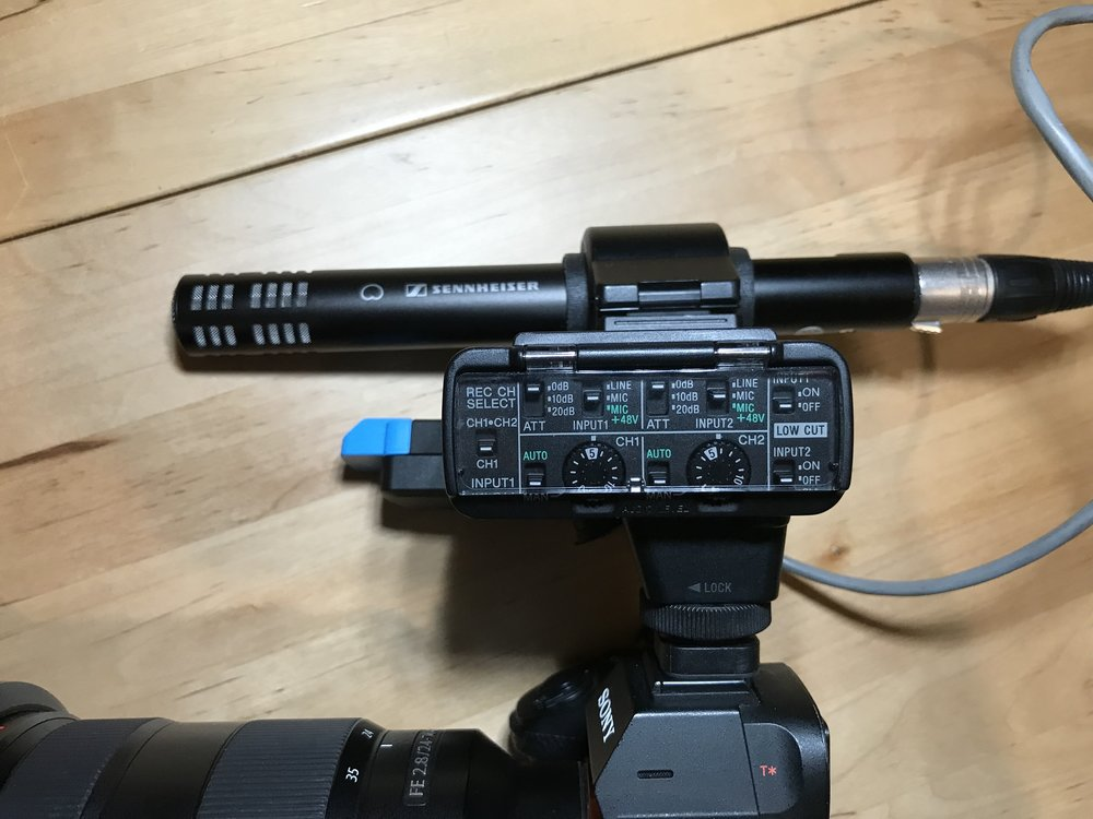 Sony A7R III XLR-K2M Adaptor Review