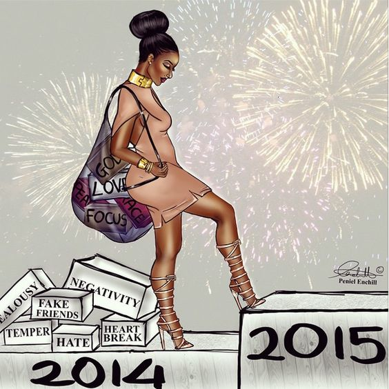 "This popular image has been ridiculed all over social media, for years, due to its ""new year new me"" cliche."