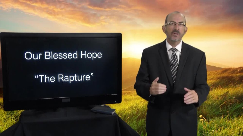 - The Bible speaks of Our Blessed Hope, which is commonly referred to as the Rapture. This video was produced to answer some questions concerning a discussion seen on TV by a good friend of Baruch. Although many parts of scripture are studied to arrive at a clear conclusion, the Greek text is used to show the meaning of the primary text of 2 Thessalonians 2:1-8.