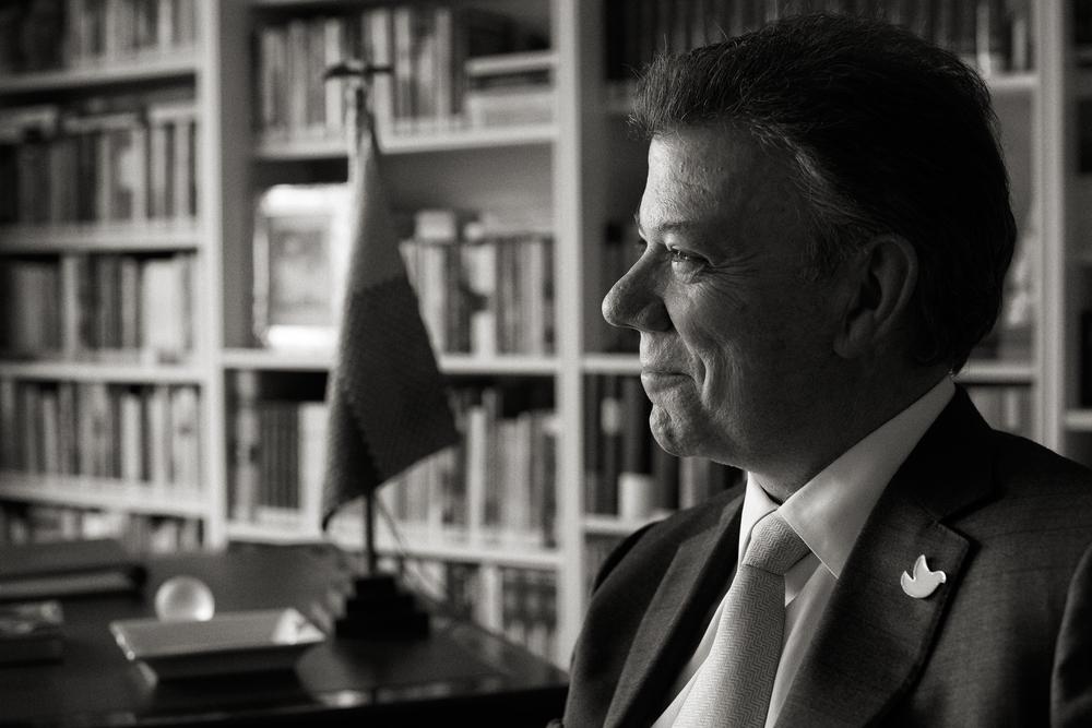 Juan Manuel Santos - Colombian President