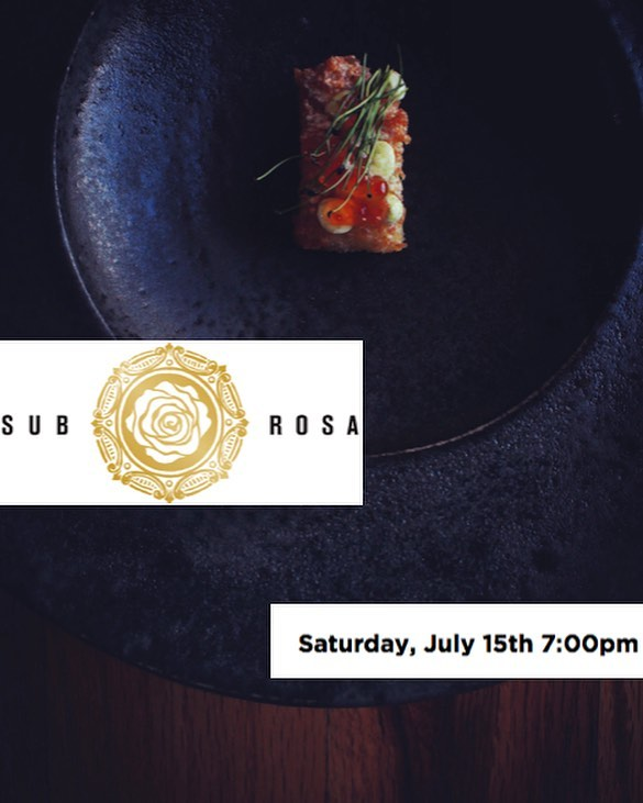 Field Rations at Sub Rosa! Join us for an exclusive eight course menu on Saturday, July 15th. Tickets are extremely limited and on a first come basis. For tickets and info please call 505.699.4825 or Matteo@therosejh.com #privatedining #subrosa #popupdinner #finedining #subrosajh