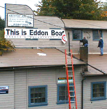 eddon boat sign goes up.jpg