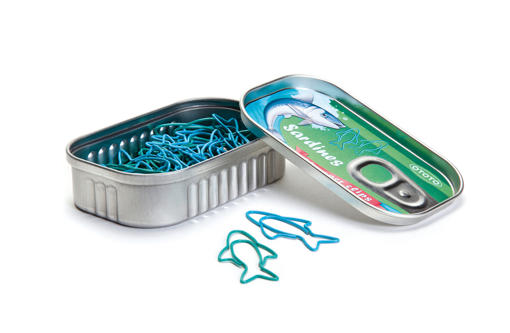 Sardines / Paper clips