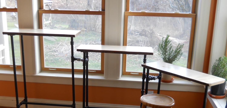 Pipe Furniture Black Pipe Furniture Jfl