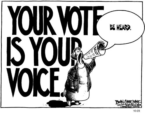 Political Cartoon by Ben Sargent