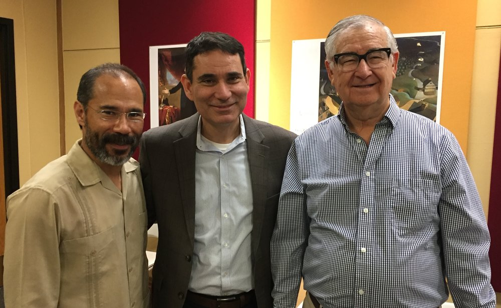 Drs Francisco Llera Pacheco, Tony Payan and Oscar J. Martinez