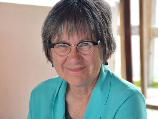 Retired UTEP professor and El Paso Social Justice team member, Kathy Staudt