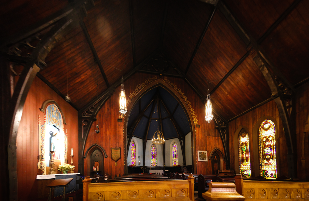"""IN CHAPEL    In a quiet, faintly musty, candlelit chapel  the Christian and not so Christian gather  To listen to the breathing of each others' souls  Voiced over by bits of music from now and then.    Prayers are said which mention anguished claims  of trust which people need, to hold to hope, or  make thanksgivings more than feelings left in silent air.  This a holy time though even """"holy"""" seems a fantasy.     This is different from how we usually live  where things we do and what we think  chain us to a """"now"""" so unrelenting or so dire.  Hours pass without a second thought of who we are.    But here you sit and listen without the need  to do or figure out a problem to be solved.  We simply let ourselves be free to know that One  who gives us life can hear, not merely words but more: our heart's intent."""