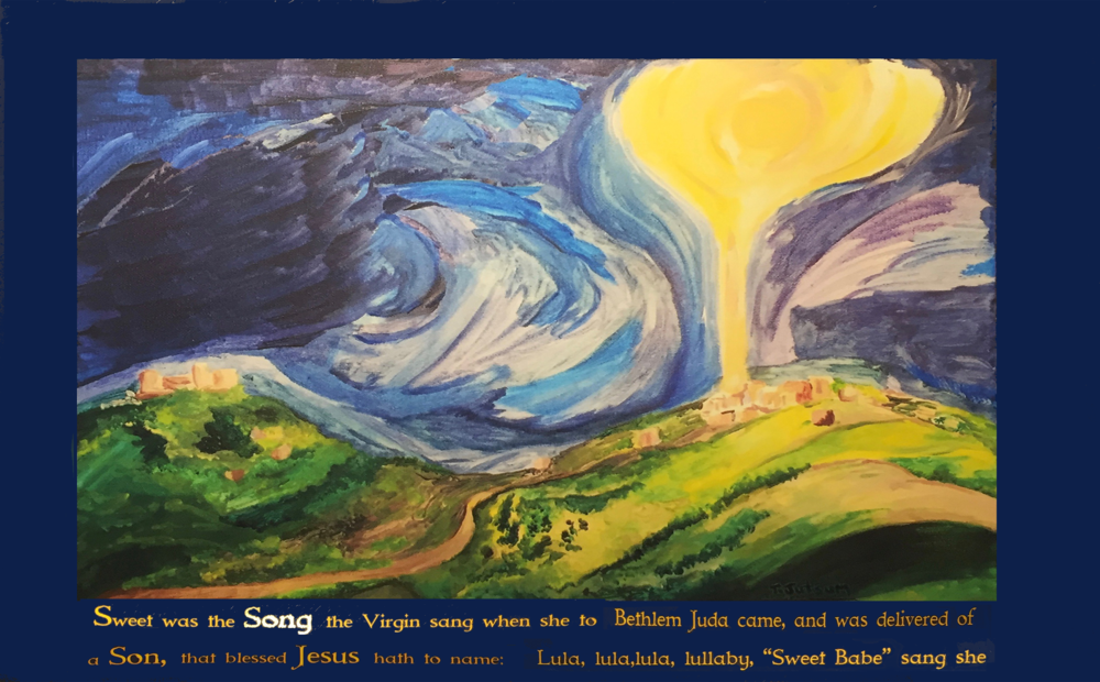 Star over Bethlehem by Tim Jutsum Christ Church                                             Christmas & Epiphany2015 THE SONG     VOL. 1  ISSUE 2            SWEET WAS THE SONG                     16TH CENTURY CAROL