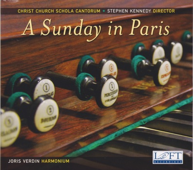 The NEW CD from Christ Church Schola Cantorum! Copies are available for purchase at the back of the church under the balcony.