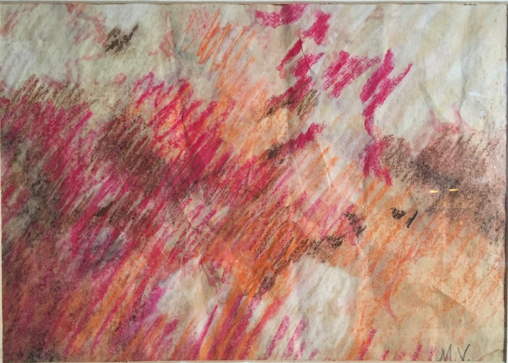 Gloria © 1982 M.V. Hill pastel on paper