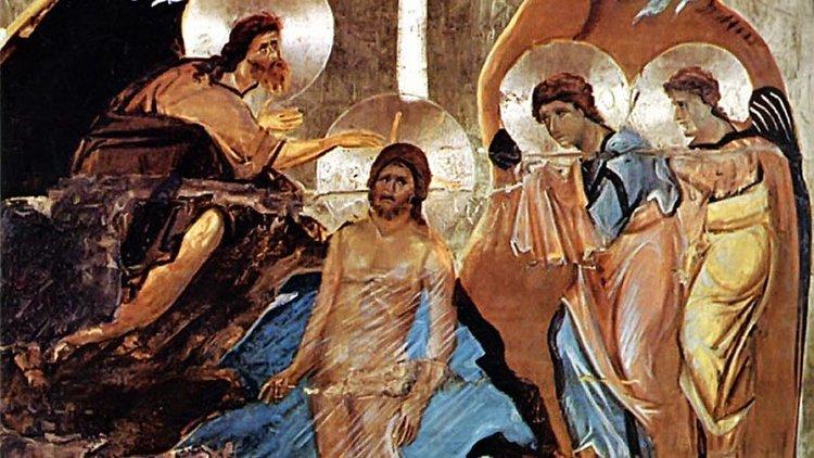 Baptism of Jesus- Icon