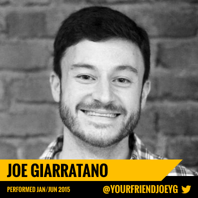 Joey Giarratano - New York Silly LIVE! Comedy Show