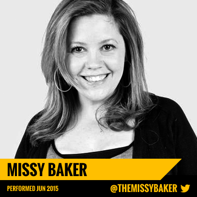 Missy Baker - New York Silly LIVE! Comedy Show