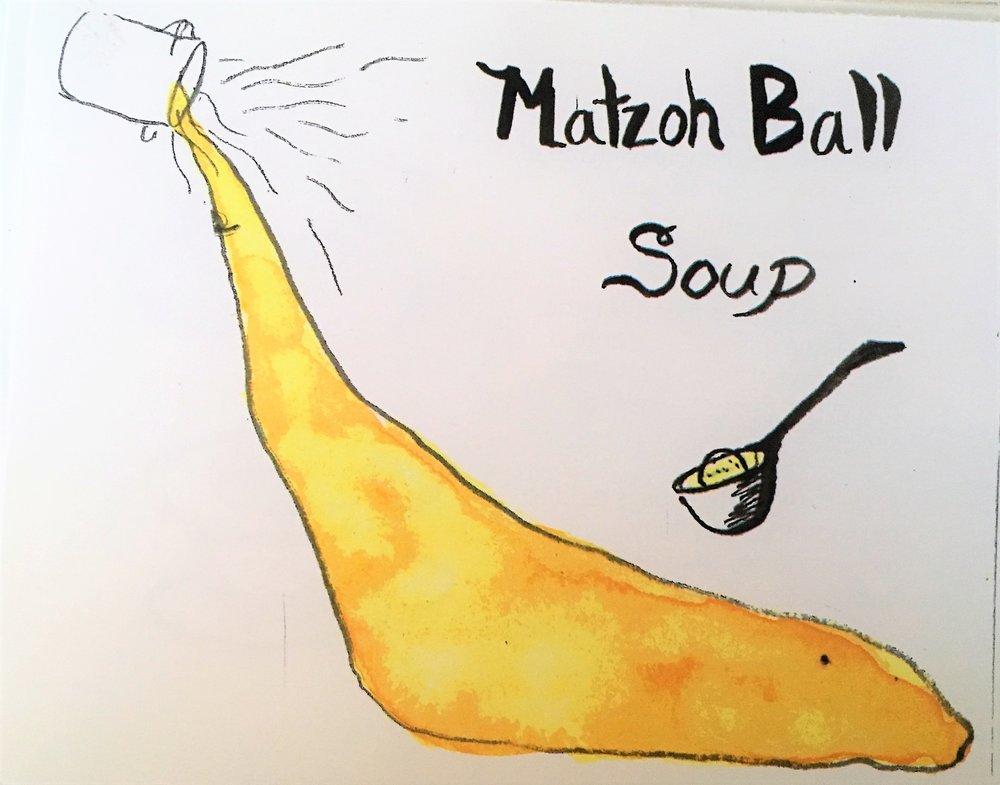 Matzoh Ball Soup, inside image