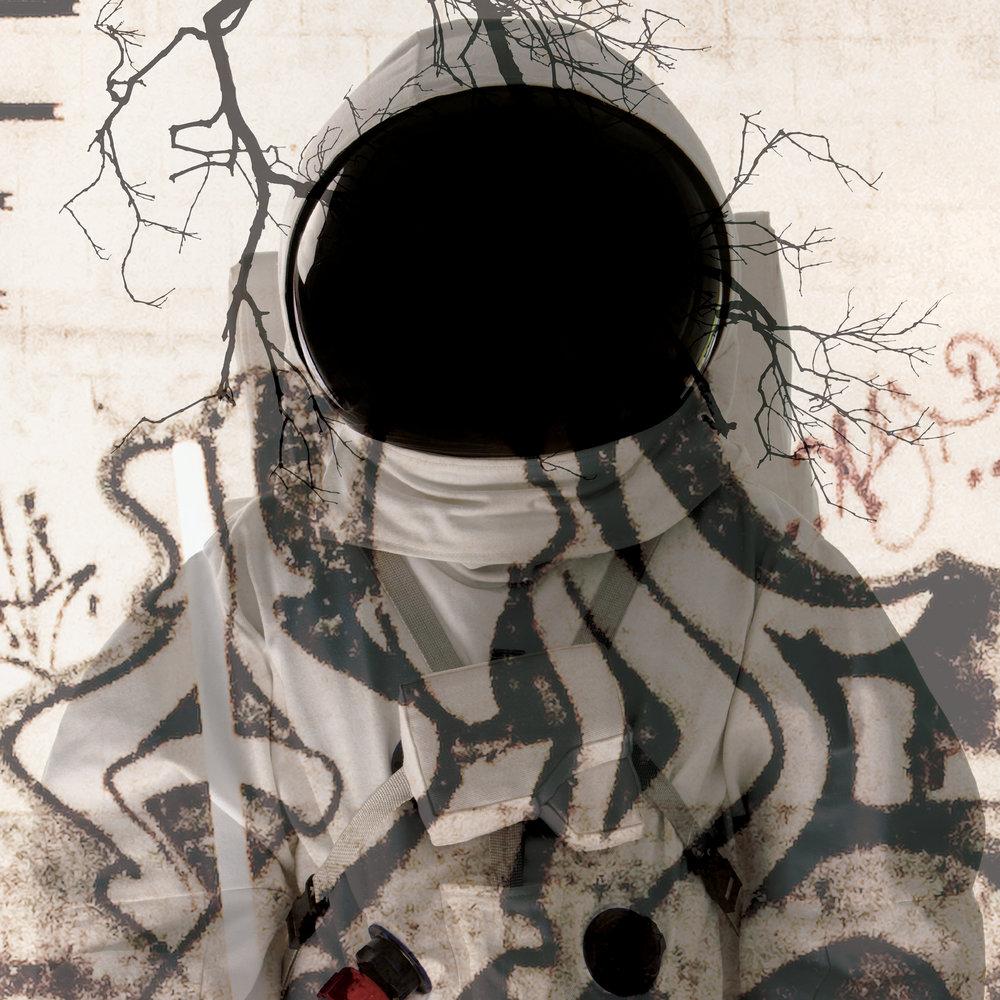 Citizen Grey    Ode to Change, 2017  mixed media on Plexiglas  48 x 48 in (122 x 122 cm)  ed. of 5