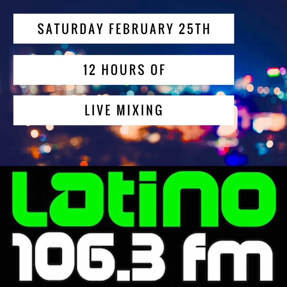 The top latin djs in salt lake on Latino 106.3 FM