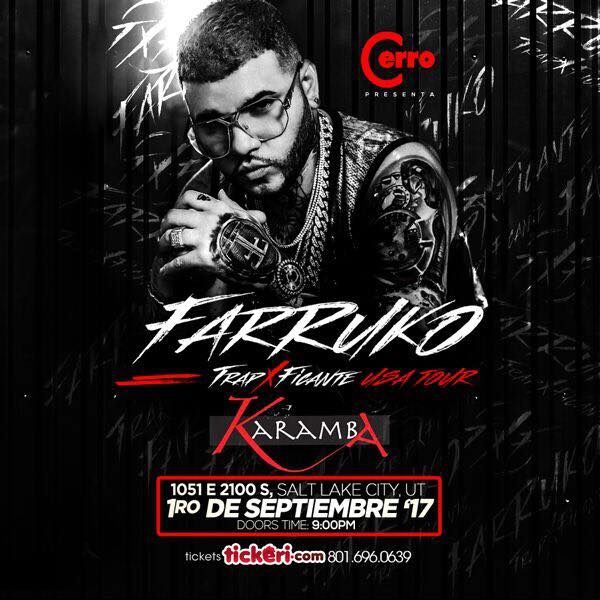 Farruko Salt Lake City Club Karamba