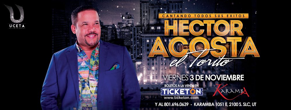 Hector Acosta in Salt Lake City