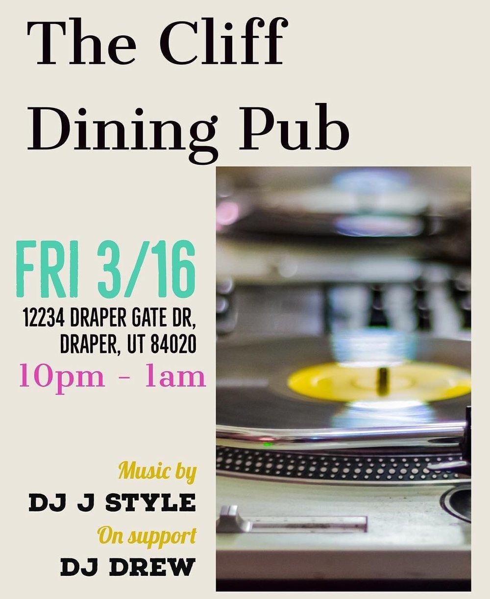Cliff Dining Pub DJ Music