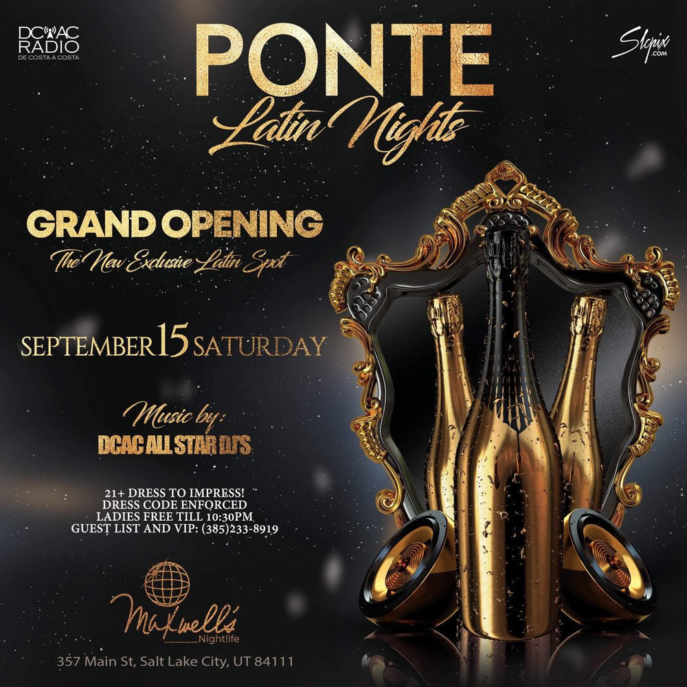 Ponte Latin Nights - Grand Opening