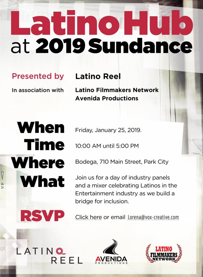 Latino Hub at the 2019 Sundance Film Festival