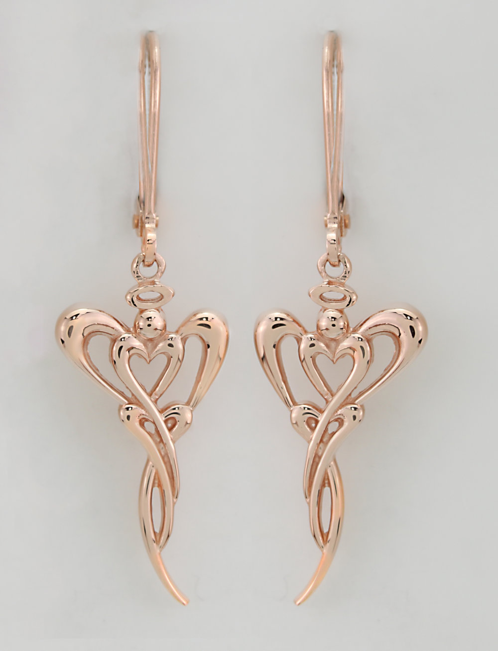 14kt Rose Gold Earrings