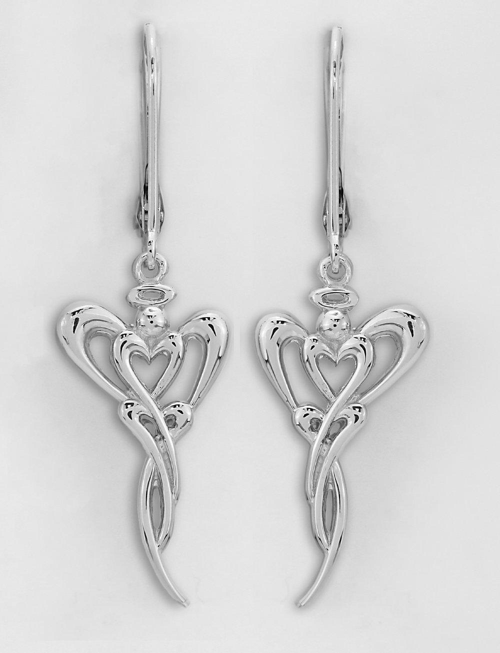 14kt White Gold Earrings