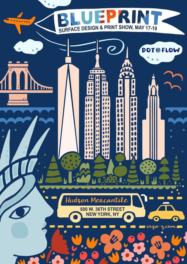 Blueprint 2018 dot flow design dot and flow blueprint 2018 show 1g malvernweather Image collections