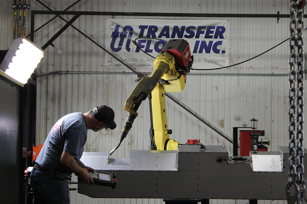 Tranfer Flow manufactures fuel tanks and propane accessories
