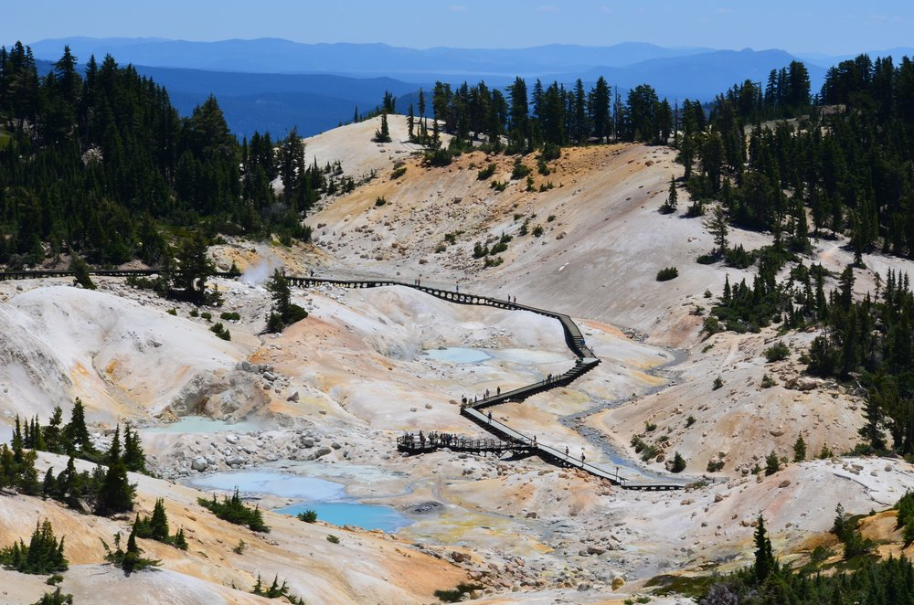 Bumpass Hell - Lassen Volcanic National Park. Photo courtesy of the National Park Service.