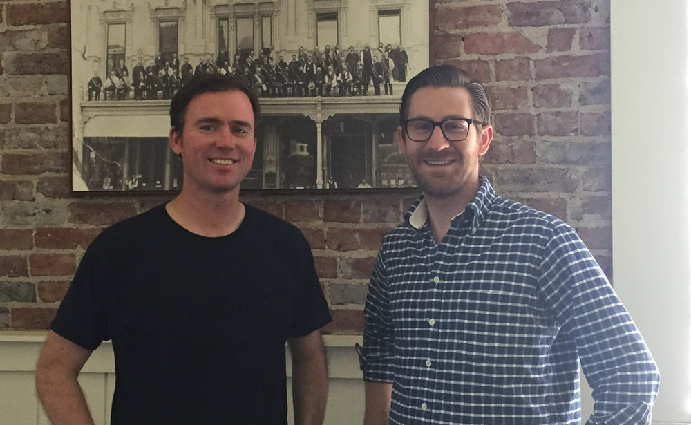 Co-Founders Patrick Carroll & Andrew March